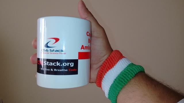 CSEstack personalized brand mug