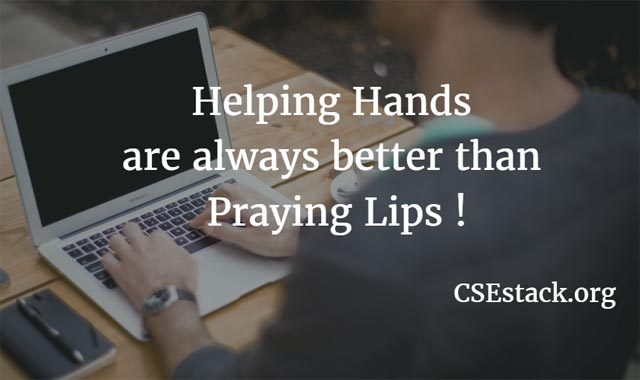 Contribute to CSEStack Portal