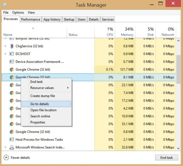 Setting CPU Affinity Go to detail
