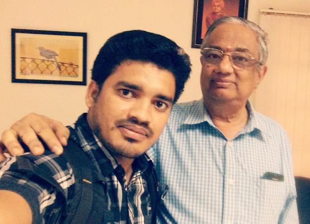 Aniruddha Chaudhari meets Srinivasan Sundarrajan