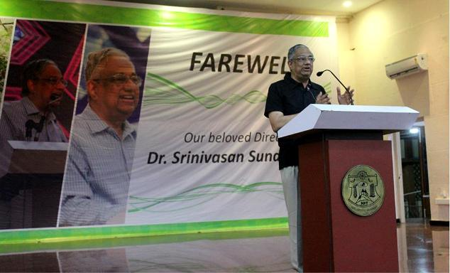 farewell speech by Srinivasan Sundarrajan