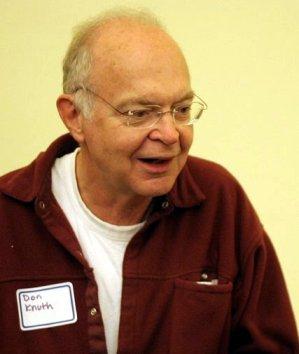 Donald Knuth Computer programmer
