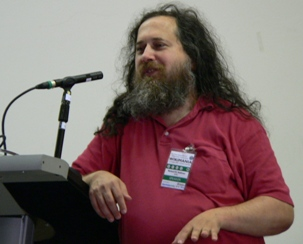 Richard Stallman for GNU project