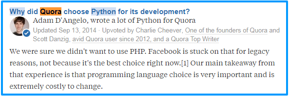 Learn Python for development