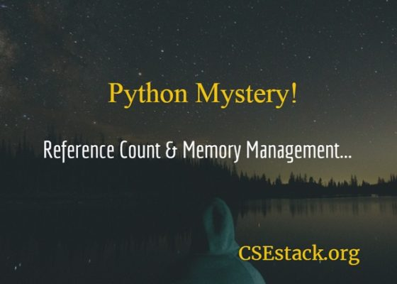 Python getrefcount reference count