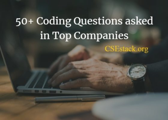 Interview Coding Questions for Practice