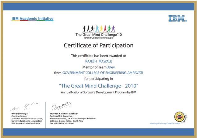 mawale Patient Billing Software tgmc certificate