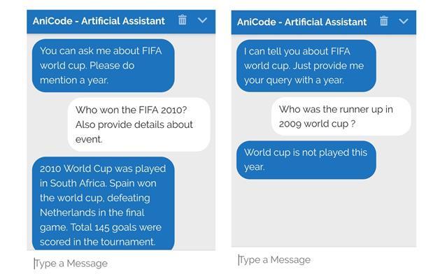 Chatbot using IBM Watson AI