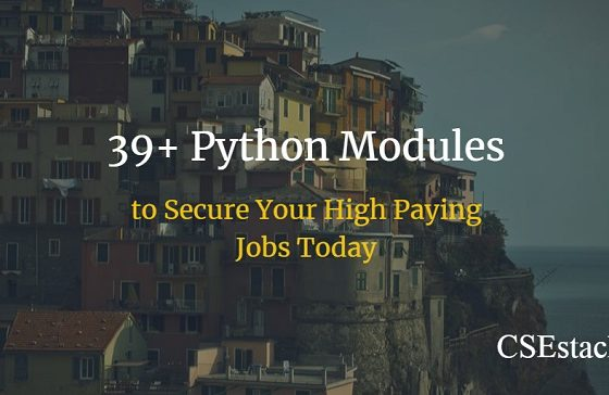 most useful python modules