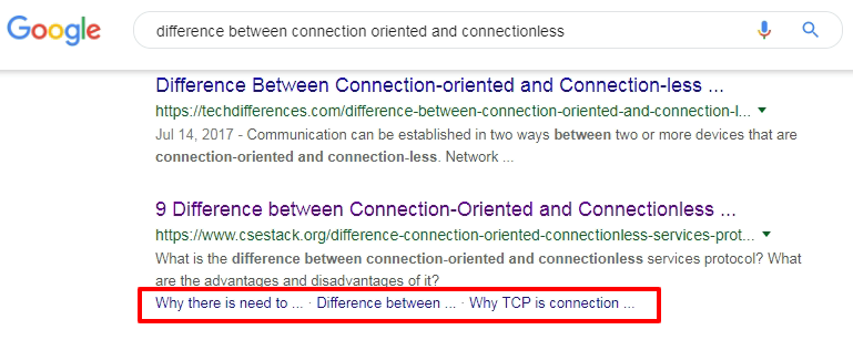 Table of Content (ToC) SEO optimization