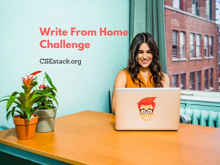 write from home contest