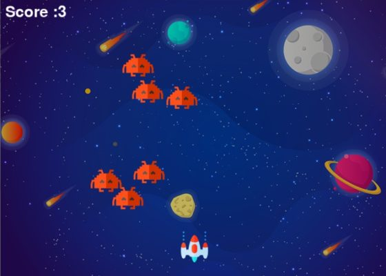 Python Space Invaders Game
